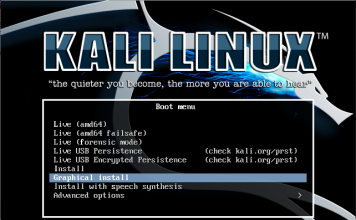 Install Kali Linux