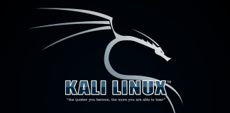 Kali linux first run