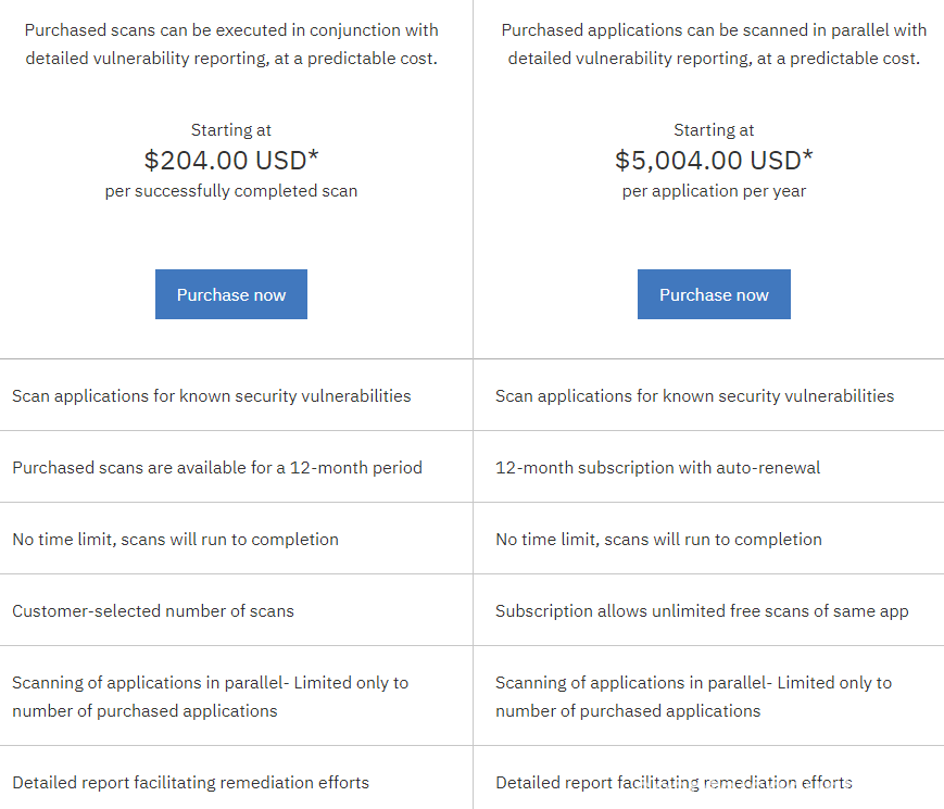 ibm-appscan-on-cloud-prices